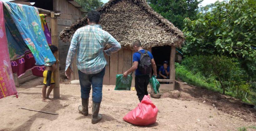 Entrega de mosquiteros en la comunidad el hormiguero, Tortuguero – SIUNA RACCN