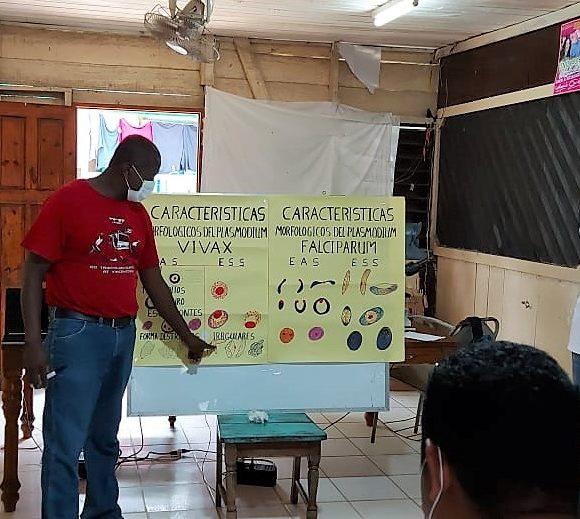 Evaluación de desempeño Malaria, Silais Rio San Juan