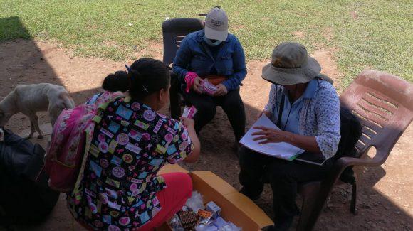 Equipo integral del MINSA y RPNS en Prinzapolka fortaleciendo estrategia contra la Malaria