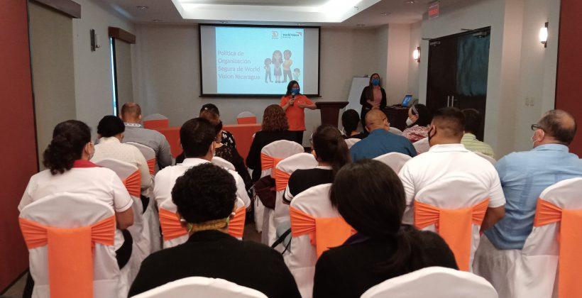 Taller Organización Segura para socios sub-receptores del RP World Vision