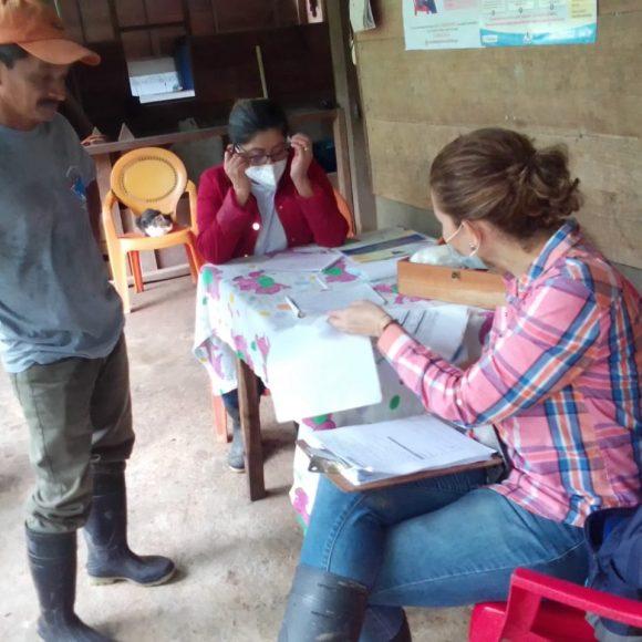 Equipo ALF, MCP, RP WVI y RP NS en compañia del equipo SIUNA-SILAIS Las Minas, visitan comunidades La Fonseca y Las Brisas