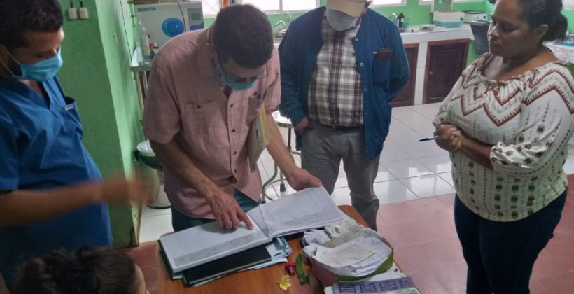 Laguna de Perlas recibe visita técnica del equipo del ALF, MCP, RP World Vision y Nica Salud