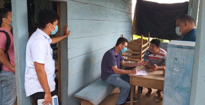 Delegación de ALF, MCP, RP World Vision y Nica Salud visitan Kukra Hill, RACCS