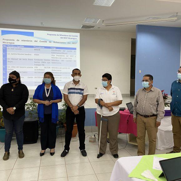 Sesión de Inducción con Fondo Mundial sobre MCP Evolution en Nicaragua