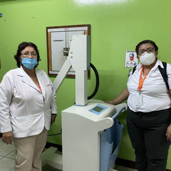 Nicaragua recibe modernos equipos de Rayos X Portátiles